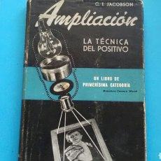 Libros de segunda mano: AMPLIACIÓN LA TÉCNICA DEL POSITIVO .C.I.JACOBSON ED.OMEGA. Lote 168220326