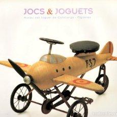 Libros de segunda mano: JUEGOS Y JUGUETES. MUSEO DE JUGUETES DE CATALUÑA. FIGUERAS. Lote 168222416