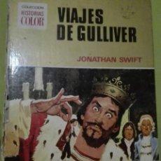 Libros de segunda mano: VIAJES DE GULLIVER POR JONATHAN SHEET COLECCIÓN HISTORIAS COLOR. Lote 168238004