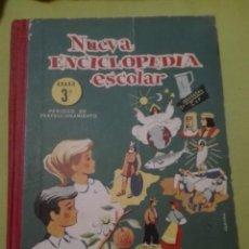 Libros de segunda mano: NUEVA ENCICLOPEDIA ESCOLAR TERCER GRADO. Lote 168238056