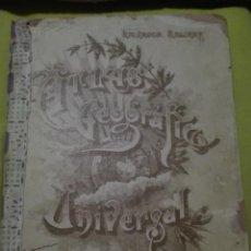 Libros de segunda mano: ATLAS GEOGRAFÍA UNIVERSAL POR SALVADOR SALINAS. Lote 168238064