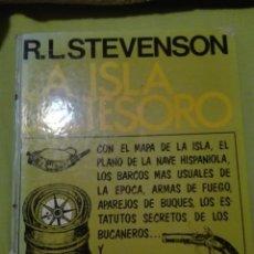 Libros de segunda mano: LA ISLA DEL TESORO RL STEVENSON. Lote 168238072