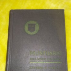 Livros em segunda mão: PRONTUARIO PARA EL EMPLEO DEL ACERO LAMINADO.ALTOS HORNOS DE VIZCAYA. Lote 168258644