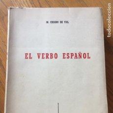 Libros de segunda mano: EL VERBO ESPAÑOL, M. CRIADO DE VAL. Lote 168275992