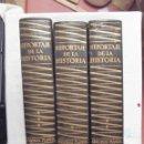 Libros de segunda mano: REPORTAJE DE LA HISTORIA 3 TOMOS CON 136 RELATOS DE TESTIGOS PRESENCIALES EN 25 SIGLOS. Lote 168291596