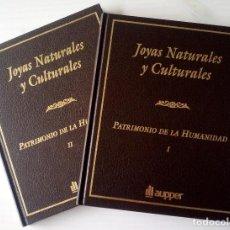 Libros de segunda mano: CTC - Nº 1244 DE 3000 - 2 TOMOS PATRIMONIO DE LA HUMANIDAD JOYAS NATURALES Y CULTURALES - AUPPER. Lote 168310148