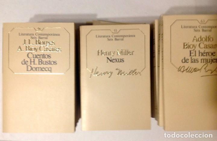 Libros de segunda mano: Lote 96 Novelas Literatura Contemporánea SEIX BARRAL 1985 - Foto 4 - 168346988