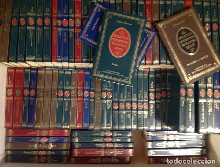 Libros de segunda mano: Biblioteca Fundamental De Nuestro Tiempo 122 Libros / Narrativa Historia Filosofía Y Ciencias 1985 - Foto 4 - 168347700