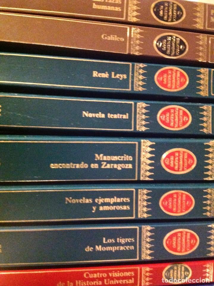Libros de segunda mano: Biblioteca Fundamental De Nuestro Tiempo 122 Libros / Narrativa Historia Filosofía Y Ciencias 1985 - Foto 6 - 168347700