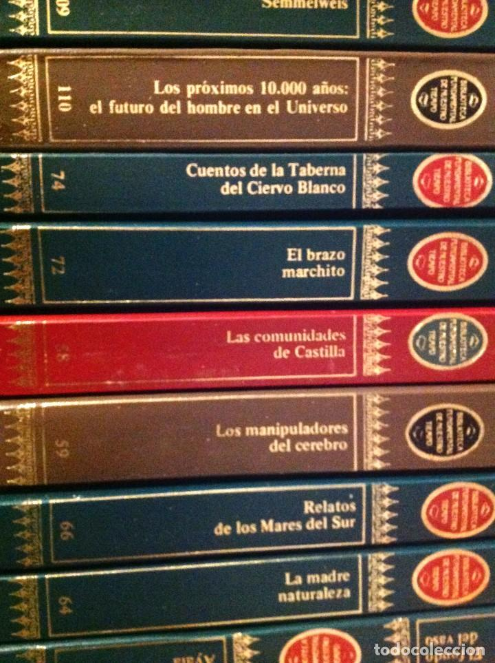 Libros de segunda mano: Biblioteca Fundamental De Nuestro Tiempo 122 Libros / Narrativa Historia Filosofía Y Ciencias 1985 - Foto 8 - 168347700