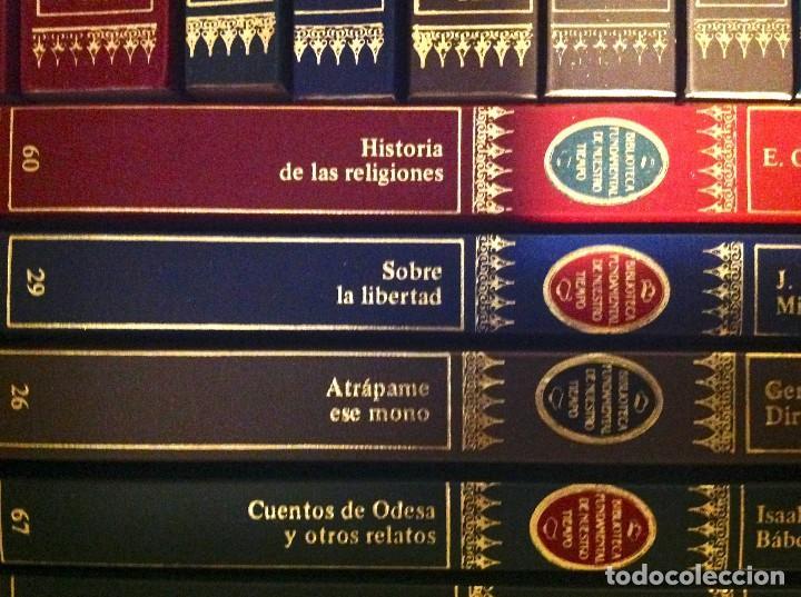 Libros de segunda mano: Biblioteca Fundamental De Nuestro Tiempo 122 Libros / Narrativa Historia Filosofía Y Ciencias 1985 - Foto 10 - 168347700