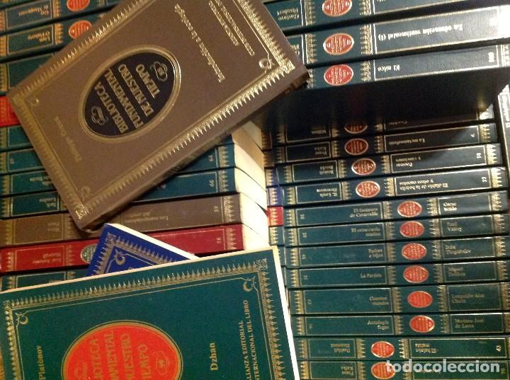 Libros de segunda mano: Biblioteca Fundamental De Nuestro Tiempo 122 Libros / Narrativa Historia Filosofía Y Ciencias 1985 - Foto 11 - 168347700