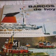 Libros de segunda mano: BARCOS DE HOY. PLAZA & JANES. Lote 168375468