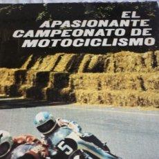Libros de segunda mano: EL APASIONANTE CAMPEONATO DE MOTOCICLISMO. PLAZA & JANES. Lote 168375792