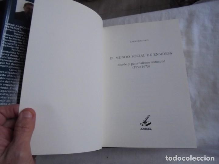 Libros de segunda mano: EL MUNDO SOCIAL DE ENSIDESA.JORGE BOGAERTS.EDICIONES AZUCEL 2000.-1ª EDICION - Foto 7 - 168375964