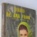 Libros de segunda mano: ANA FRANK: DIARIO DE ANA FRANK (CARTAS A MI MUÑECA). Lote 168382452