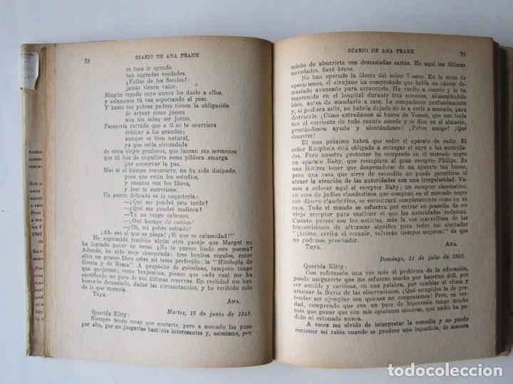 Libros de segunda mano: Ana Frank: DIARIO DE ANA FRANK (CARTAS A MI MUÑECA) - Foto 2 - 168382452