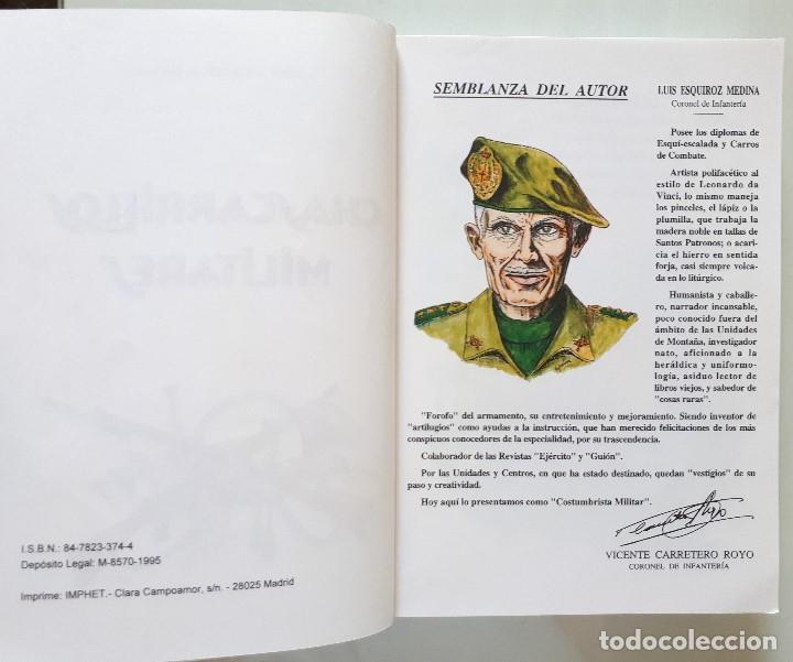 Libros de segunda mano: CHASCARRILLOS MILITARES / LUIS ESQUIROZ MEDINA 1995 - Foto 5 - 168384404