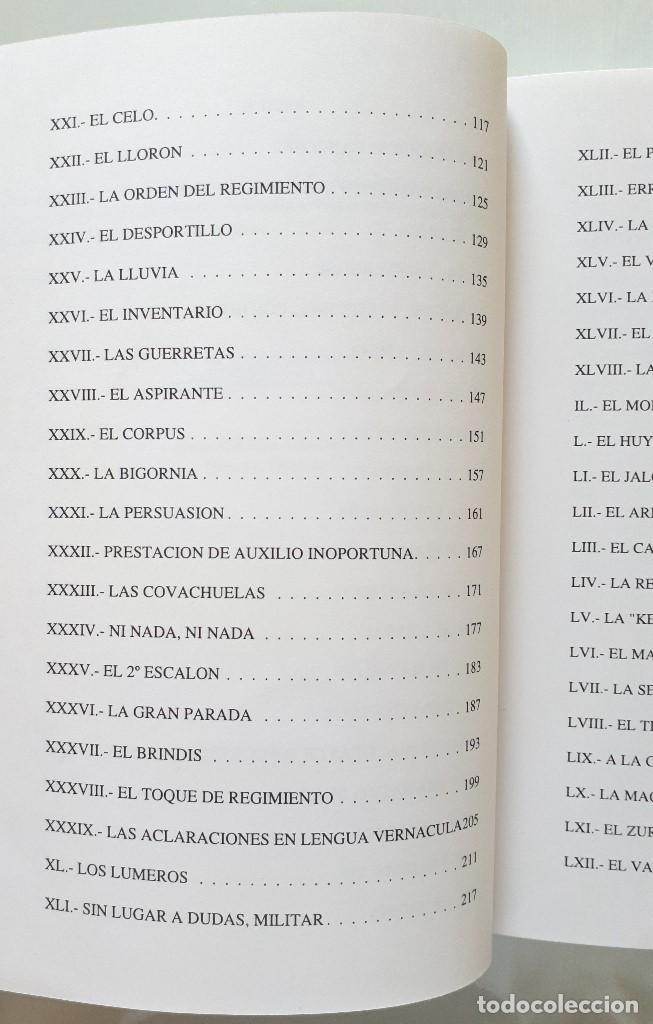Libros de segunda mano: CHASCARRILLOS MILITARES / LUIS ESQUIROZ MEDINA 1995 - Foto 7 - 168384404