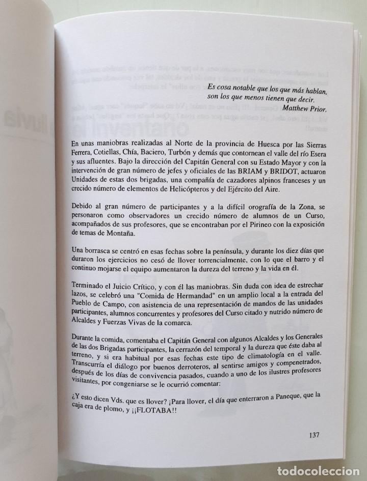 Libros de segunda mano: CHASCARRILLOS MILITARES / LUIS ESQUIROZ MEDINA 1995 - Foto 11 - 168384404