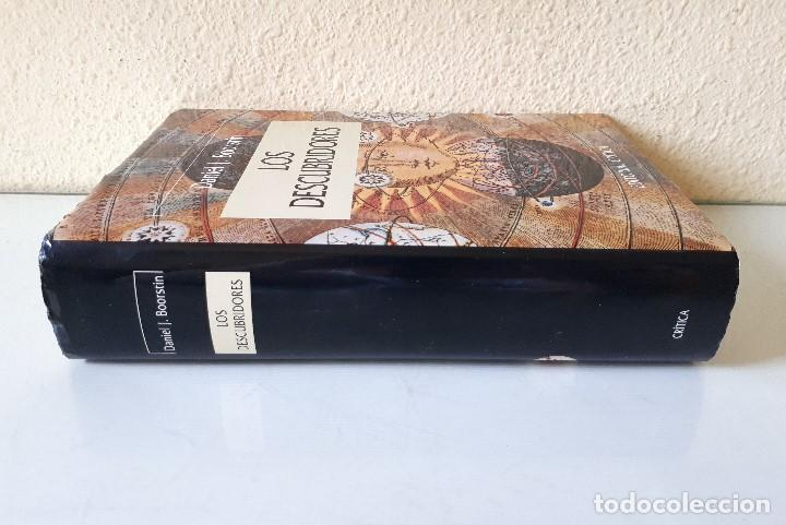 Libros de segunda mano: DANIEL J. BOORSTIN / LOS DESCUBRIDORES / CRÍTICA 1986 - Foto 3 - 168384688
