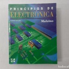 Libros de segunda mano: PRINCIPIOS DE ELECTRÓNICA POR ALBERT PAUL MALVINO (1992) - MALVINO, ALBERT PAUL. Lote 168407669