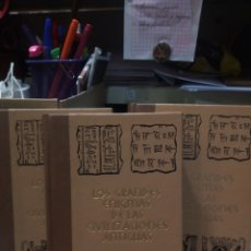 Libros de segunda mano: LOS ENIGMAS DE LAS CIVILIZACIONES ANTIGUAS (3 TOMOS). Lote 168446644
