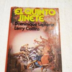 Libros de segunda mano: EL QUINTO JINETE DE DOMINIQUE LAPIERRE. CIRCULO DE LECTORES, 1981, TAPA DURA CON SOBRECUBIERTA. Lote 168450188