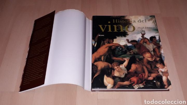 Libros de segunda mano: Libro Historia del Vino, Hugh Johnson, 256 pág. Ed. Blume, 1ª edición en lengua española, año 2005. - Foto 2 - 168479654
