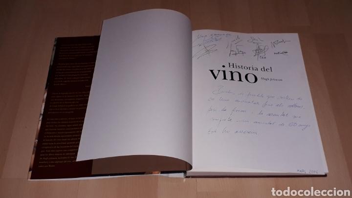 Libros de segunda mano: Libro Historia del Vino, Hugh Johnson, 256 pág. Ed. Blume, 1ª edición en lengua española, año 2005. - Foto 3 - 168479654