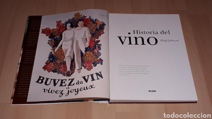 Libros de segunda mano: Libro Historia del Vino, Hugh Johnson, 256 pág. Ed. Blume, 1ª edición en lengua española, año 2005. - Foto 4 - 168479654