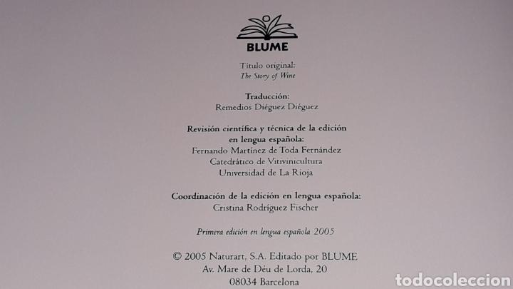 Libros de segunda mano: Libro Historia del Vino, Hugh Johnson, 256 pág. Ed. Blume, 1ª edición en lengua española, año 2005. - Foto 6 - 168479654