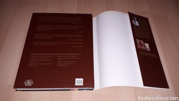 Libros de segunda mano: Libro Historia del Vino, Hugh Johnson, 256 pág. Ed. Blume, 1ª edición en lengua española, año 2005. - Foto 10 - 168479654