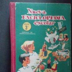 Libros de segunda mano: NUEVA ENCICLOPEDIA ESCOLAR TERCER GRADO HIJOS DE SANTIAGO RODRÍGUEZ BURGOS. Lote 168481484