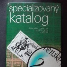 Libros de segunda mano: ESPECIALIZOVANY CKATÁLOG. Lote 168482504