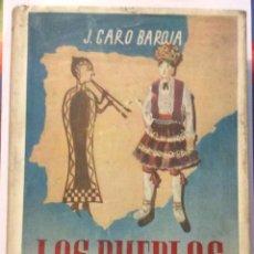 Libros de segunda mano: LOS PUEBLOS DE ESPAÑA - ENSAYO DE ETNOLOGÍA J. CARO BAROJA -ED BARNA 1946. Lote 168484128