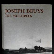 Libros de segunda mano: JOSEPH BEUYS, CATALOGO RAZONADO DE MÚLTIPLES, SCHELLMANN. Lote 168494216