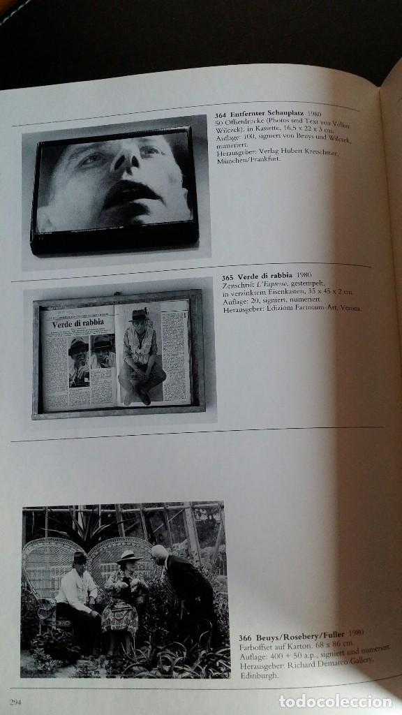 Libros de segunda mano: Joseph BEUYS, CATALOGO RAZONADO de Múltiples, SCHELLMANN - Foto 9 - 168494216