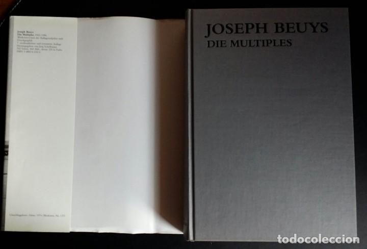 Libros de segunda mano: Joseph BEUYS, CATALOGO RAZONADO de Múltiples, SCHELLMANN - Foto 13 - 168494216