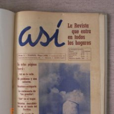 Libros de segunda mano: ASÍ. LA REVISTA QUE ENTRA EN TODOS LOS HOGARES. COMPLETA. AÑO 1959. (MENORCA.2.4). Lote 168527572