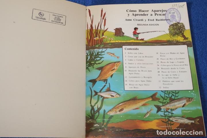 Libros de segunda mano: Como hacer Aparejos y Aprender A Pescar - PLESA - SM (1984) - Foto 2 - 168543488