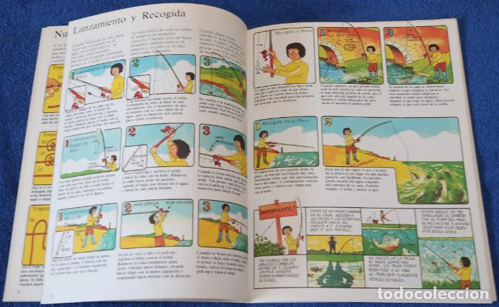 Libros de segunda mano: Como hacer Aparejos y Aprender A Pescar - PLESA - SM (1984) - Foto 3 - 168543488