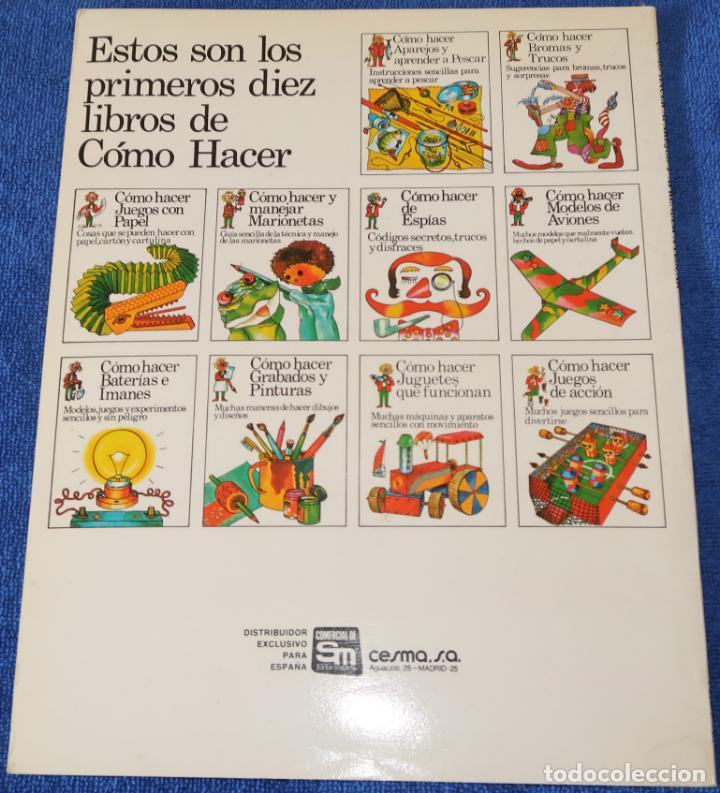 Libros de segunda mano: Como hacer Aparejos y Aprender A Pescar - PLESA - SM (1984) - Foto 4 - 168543488