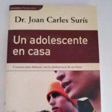 Libros de segunda mano: UN ADOLESCENTE EN CASA. Lote 168548388