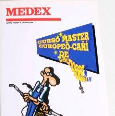 Libros de segunda mano: MANUAL PARA ELECTRICISTAS. CURSO MASTER EUROPEO-CAÑI DE VOLTIOS (ILUSTRADO POR FORGES). MEDEX 1992. Lote 168560268