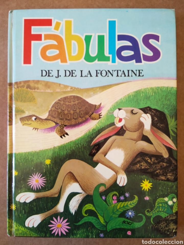 FÁBULAS DE J. DE LA FONTAINE (SUSAETA, 1973). ILUSTRACIONES DE BORT. (Libros de Segunda Mano - Literatura Infantil y Juvenil - Otros)