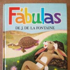Libros de segunda mano: FÁBULAS DE J. DE LA FONTAINE (SUSAETA, 1973). ILUSTRACIONES DE BORT.. Lote 168567653
