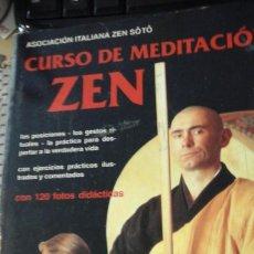 Libros de segunda mano: CURSO DE MEDITACION ZEN (BARCELONA, 1997). Lote 168598348