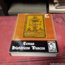 Libros de segunda mano: DARÍO DE AREITIO, TEMAS HISTÓRICOS VASCOS, BIBLIOTECA BASCONGADA VILLAR, NÚMERO 6. Lote 168604189