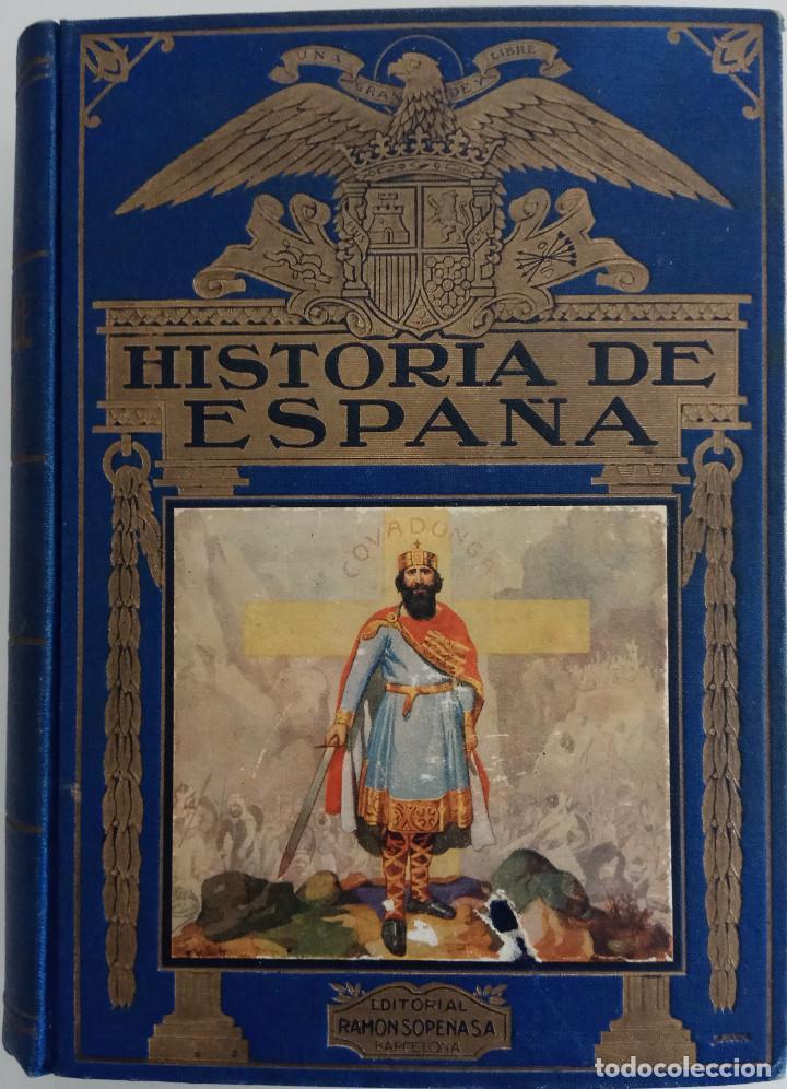 HISTORIA DE ESPAÑA - POR AGUSTÍN BLÁNQUEZ FRAILE -EDITORIAL RAMÓN SOPERA - AÑO 1943 (Libros de Segunda Mano - Historia - Otros)